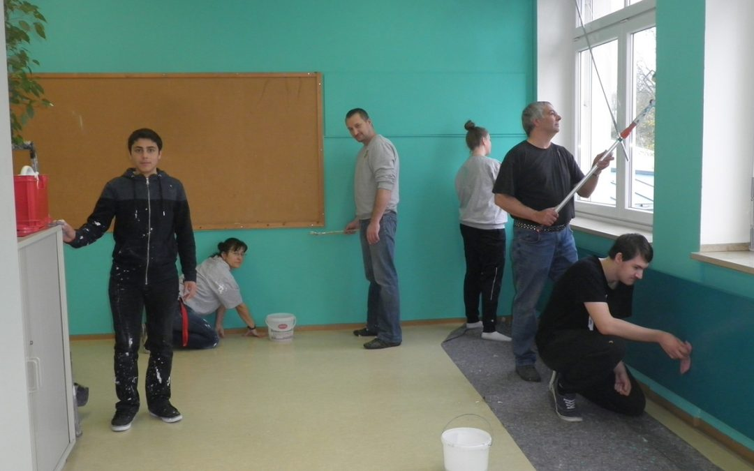 Neuer Farbanstrich für das Klassenzimmer – 9