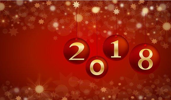 Beste Wünsche für das Jahr 2018!