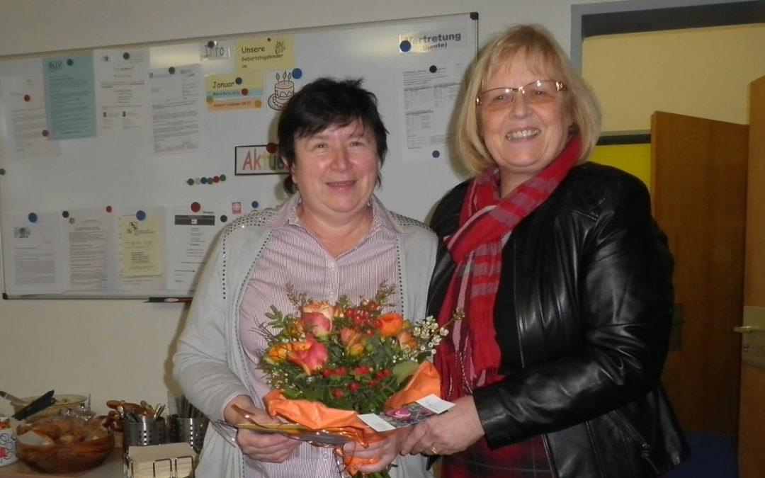 Kollegium gratuliert Ida Hirthammer