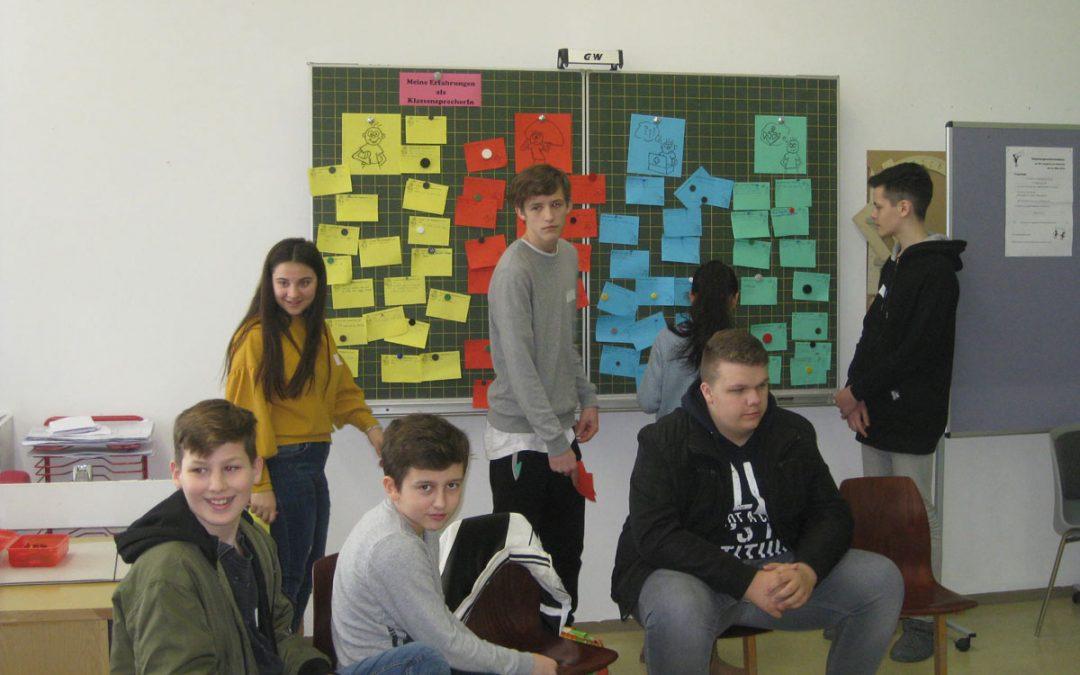 Klassensprecher tauschen sich aus – 5-9