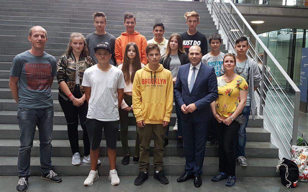 Abschlussschüler im Deutschen Bundestag – 9