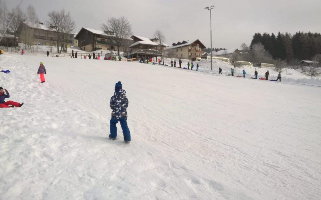 Wintersporttag der Grundschulklassen 1-3
