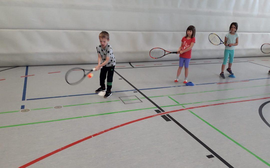 Schnuppertraining des Tennisclubs Langquaid