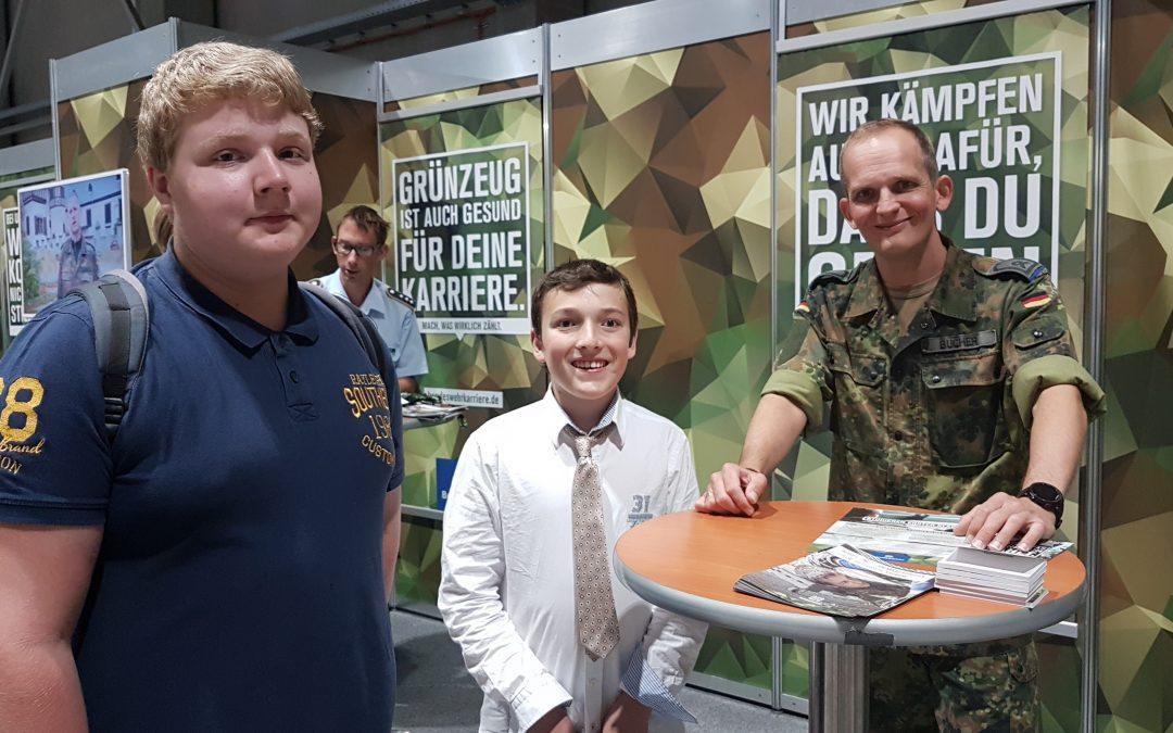 """""""vocatium""""- Fachmesse für Ausbildung und Studium 2019 in Regensburg (Klasse 8)"""