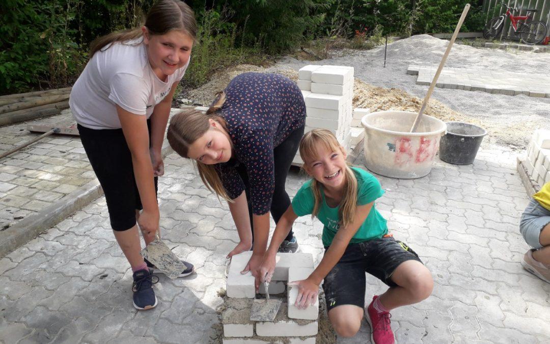 Besuch im Berufsbildungswerk Abensberg: Thema Bau (Klasse 5)