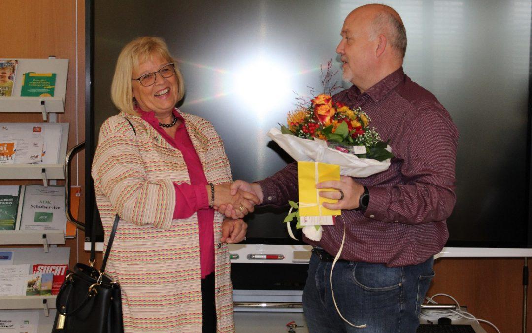 Geburtstag der früheren Rektorin Claudia Müller