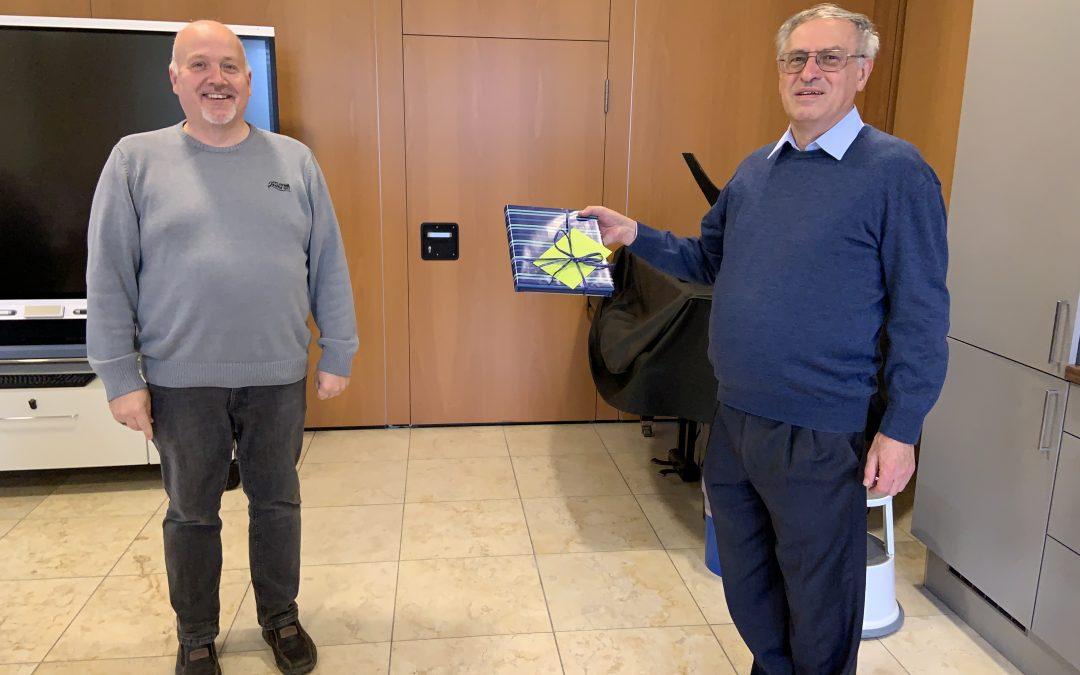 Pfarrer Schwarzfischer feiert Geburtstag