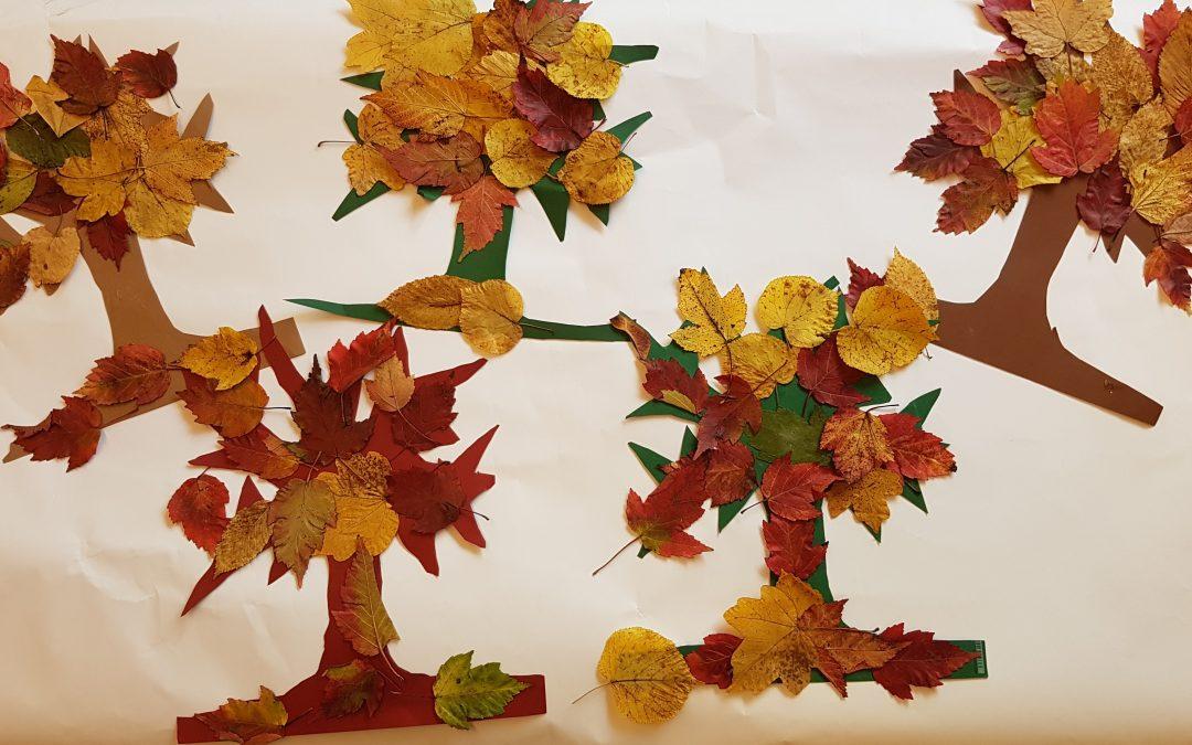 Herbstzeit ist Blätterzeit!