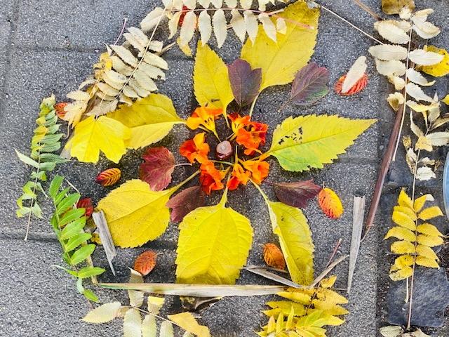 Herbst-Kunst der 2. Klassen